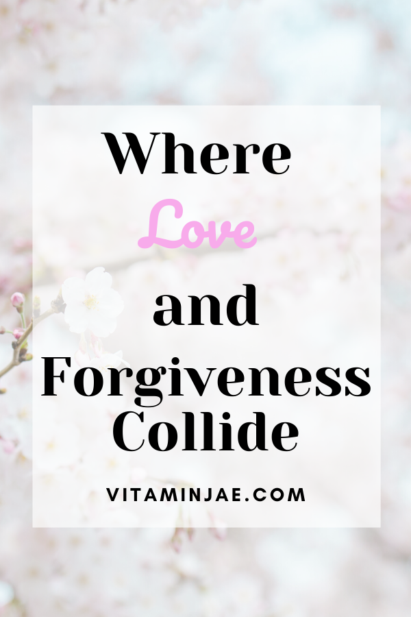 Where love and forgiveness collide. Have you felt like you aren't getting what you're getting? You are not alone! How do you love? How are you being loved?